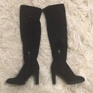 New Sam Edelman Kent Suede Over-the-Knee Boots 8M
